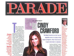 Cindy Crawford in Parade