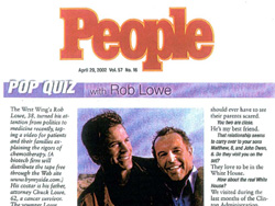 Rob Lowe in People