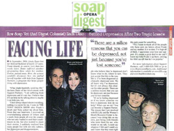 Linda Dano in Soap Opera Digest