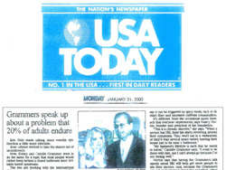 Kelsey Grammer in USA Today