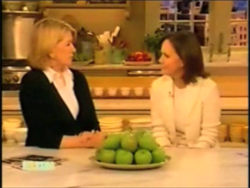 Sally Field on Martha Stewart